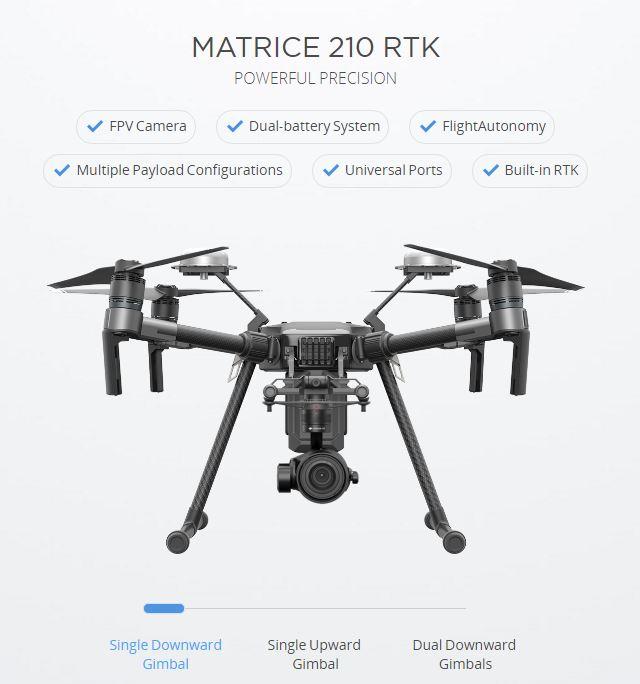 matrice 210 rtk