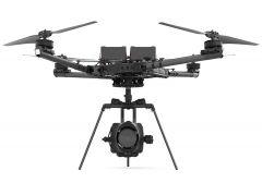 Alta X in case + Skyview Landing Gear