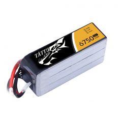 Gens Ace Tattu 6750mAh 14.8V 25C 4S1P Lipo Battery XT90