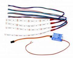 RC BT-LED controller & 4x RGB LED strips