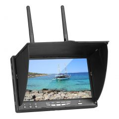 7'' TFT LCD FPV Monitor 5.8G 40CH Build-in Battery