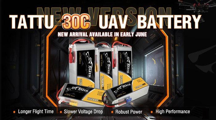 Gensace Tattu lipo battery