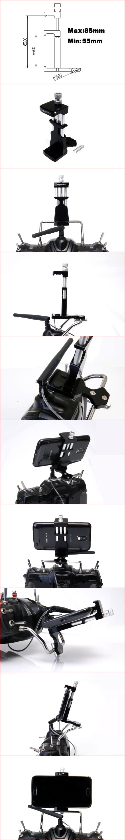 Mobile Grip for transmitters