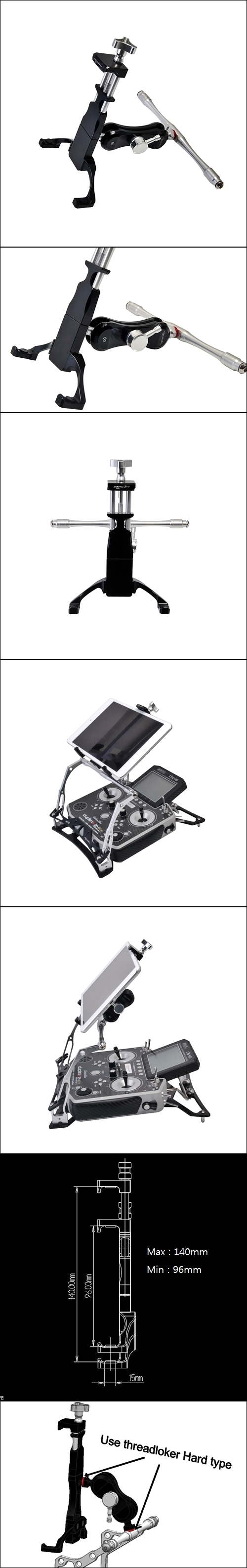 Mobile-grip-M for FPV Pult PRO