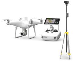 DJI Phantom 4 RTK + D-RTK 2 Mobile Station