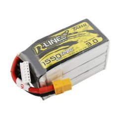 Tattu R-Line Version 3.0 1550mAh 22.2V 120C 6S1P Lipo