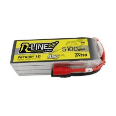 Tattu R-Line Version 3.0 1050mAh 22.2V 120C 6S1P Lipo