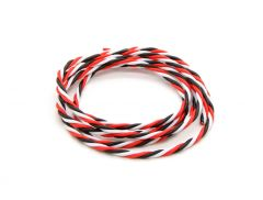 Twisted 22AWG Servo Wire Red/Black/White (1m)