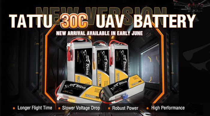Gensace Tattu lipo battery